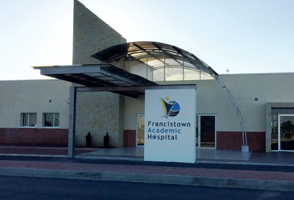 Welcome to Francistown Academic Hospital